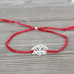 Lotus - Silver/Red