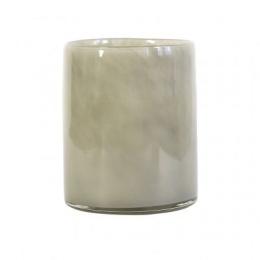 Lyric Candleholder L - Warm Grey