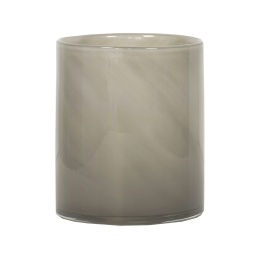 Lyric candleholder M - Grey