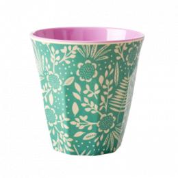 Medium Mugg - Blommor & Ormbunke