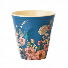 Medium Mugg - Blomster