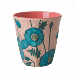 Medium Mugg - Blue Poppy
