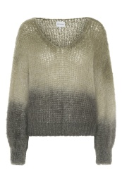Milana Mohair Knit - Beige Ombre