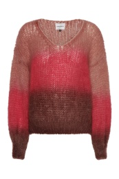 Milana Mohair Knit - Red Ombre