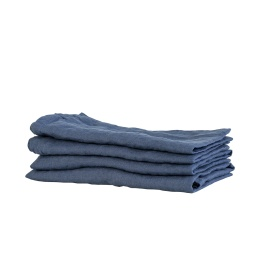 Kitchen Towel Linen 50x70 - Navy Blue