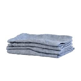 Kitchen Towel Linen 50x70 - Woven Light Blue