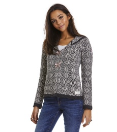 Le Knit Cardigan - Almost Black