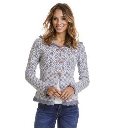 Le Knit Cardigan - Grey