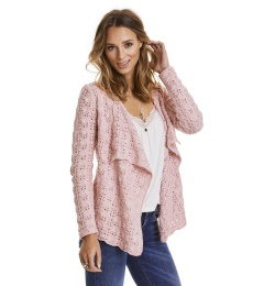 Canal Cardigan - Milky Pink
