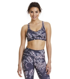 Upbeat Sport Bra - Almost Black