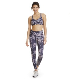 Upbeat Leggings - Almost Black