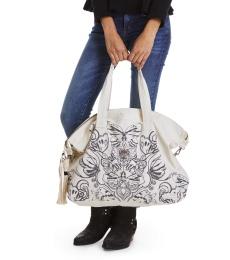 Carryall Bag - Golden Porcelain