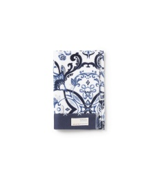 Boho butterfly guest towel - Dark blue