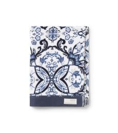 Boho butterfly hand towel - Dark blue
