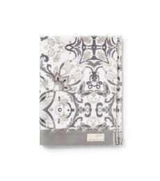 Boho butterfly hand towel  - Grey