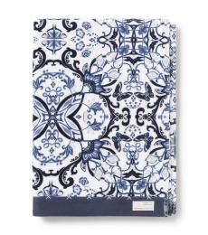 Boho butterfly bath towel - Dark blue