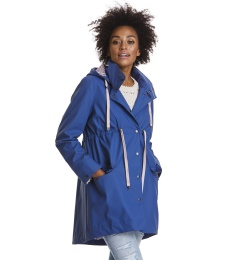 Monsson rainjacket - China blue