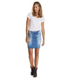 Girl Skirt - Mid Blue