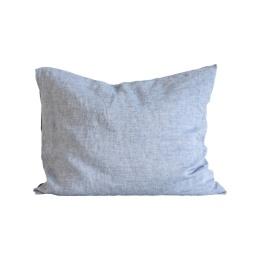 Pillowcase linen 50x60 2p - Woven light blue