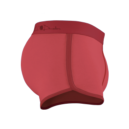 Boxer Briefs - Red coral