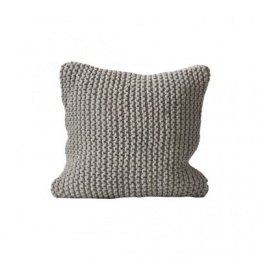 Rope Cushion Cover 50x50 - Light Grey