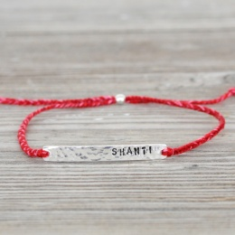 Shanti - Silver/Red