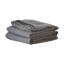 Sheet/Table Cloth Linen 160x270 - Dark Grey