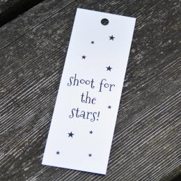 Shoot for the stars - Tags