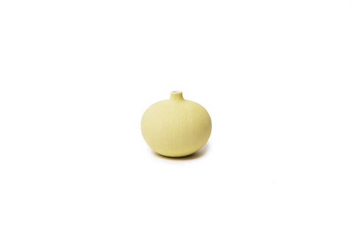 Vase Bari Small - Yellow Matt