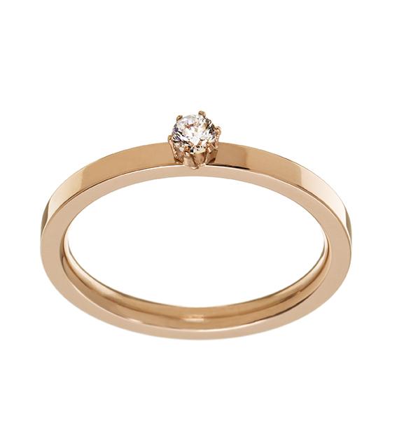 Crown Ring Mini - Rosé