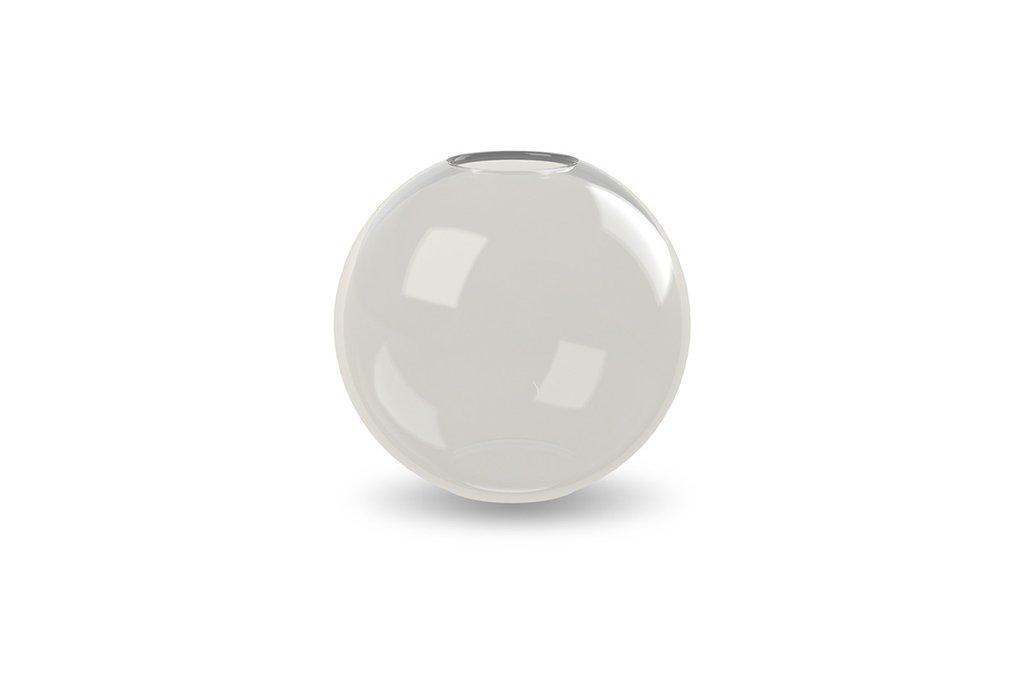 Ball vase glass, 15cm - Ash