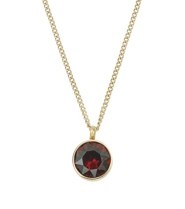 Diana Necklace - Plum Gold