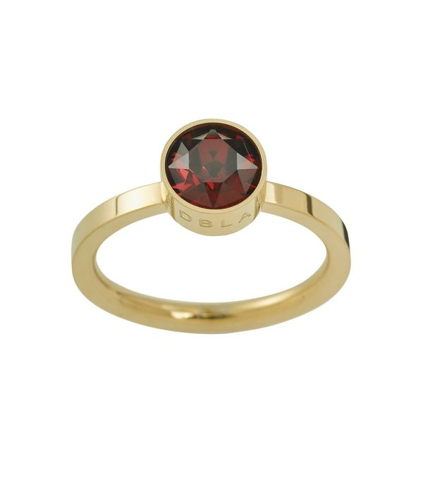 Diana Ring - Plum Gold