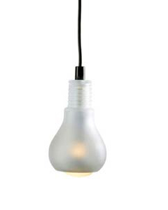 Edison Lampa - Glas