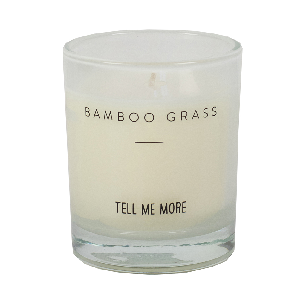 Scented Candle Clean S - Bamboo Grass