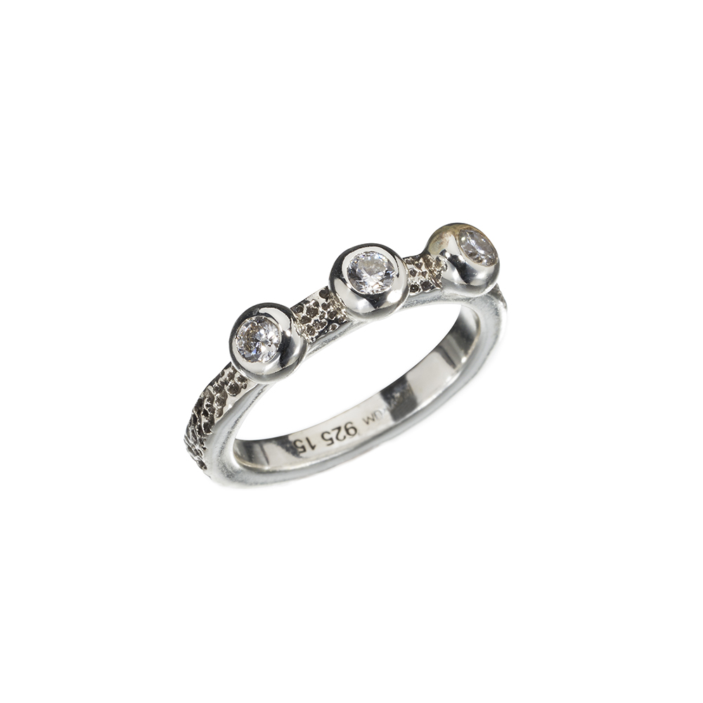 Ring Sea Ball - Silver