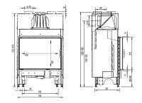 Inbyggnadsspis Morsö S101-12 Med Hisslucka
