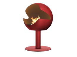 Globe Red Ember Vauni Hög Modell