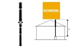 Skorsten Schiedel 3,05 meter
