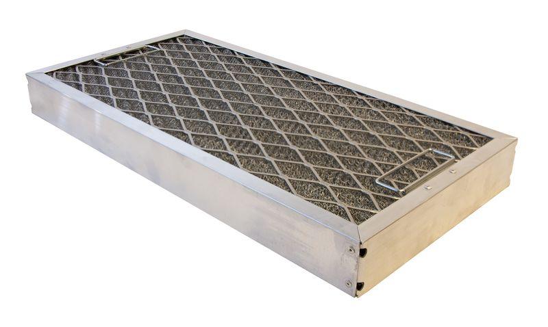 Restaurangfilter aluminium 495 x 245 x 50 mm