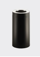 Schiedel skorstenslängd 250 mm (205 mm) 50 mm Helisolerad
