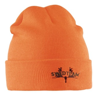Swedteam Knitted Orange Mössa