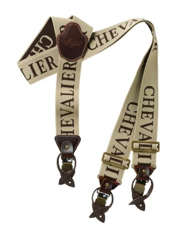 Chevalier Suspenders 50 mm Beige
