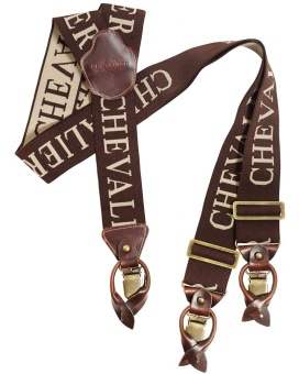 Chevalier Suspenders 50MM C/S Brown