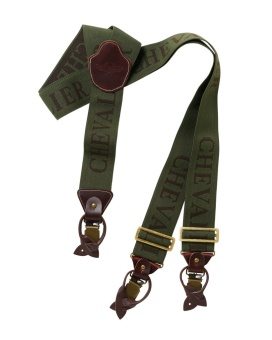 Chevalier Suspenders 50 mm Green