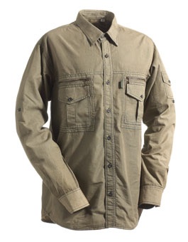 Chevalier Serengeti Shirt w Mesh Green