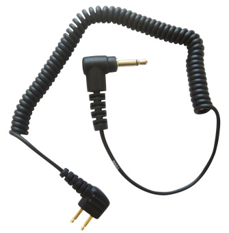 Radiokabel Peltor 3,5mm 2-Pol Vinkel