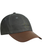 Chevalier Oiler Cap Faux Leather brim