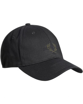 Chevalier Camden Cotton Cap Black