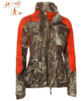 Chevalier Pointer Camo Blaze Coat Lady